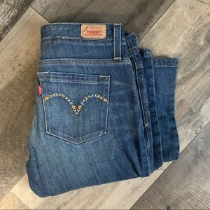 Levi's flare jeans 7M/27